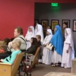 Nuns at the town hall